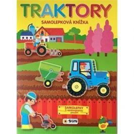 Traktory samolepková knížka