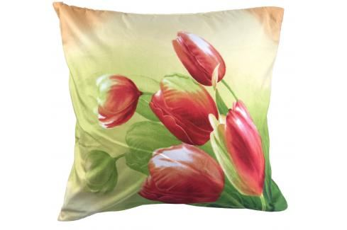 Apex 3D povlak 45x45 Tulipány Ložní povlečení