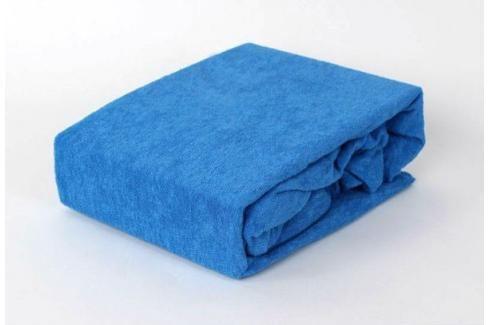 TP Froté prostěradlo Premium 190g/m2 140x200 Modrá Prostěradla