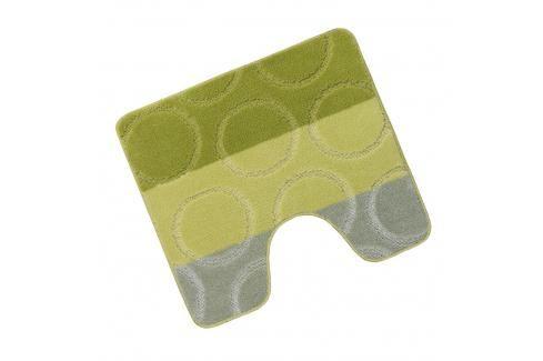 WC předložka 50x60cm zelené kroužky Dávkovače mýdla