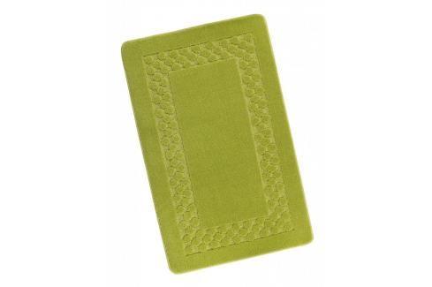 Koupelnová předložka 60x100cm zelený rám Dávkovače mýdla