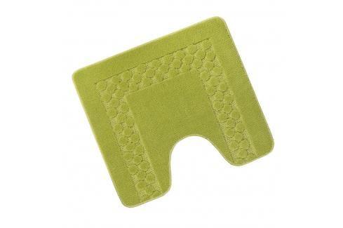 WC předložka 50x60cm zelený rám Dávkovače mýdla