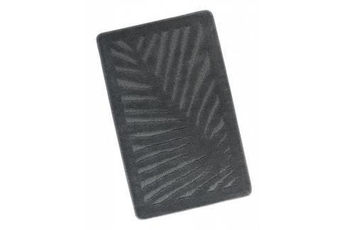 Koupelnová předložka 60x100cm šedý list Dávkovače mýdla