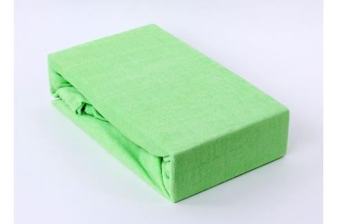 TP Froté prostěradlo Premium 190g/m2 220x200 Světle zelená Prostěradla