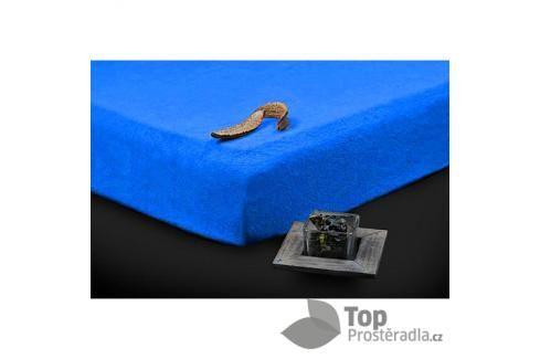 TP Froté prostěradlo Premium 190g/m2 90x200 Modrá Prostěradla