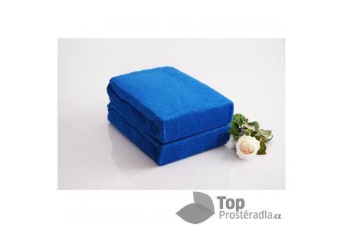TP Froté prostěradlo Premium 190g/m2 220x200 Modrá Prostěradla