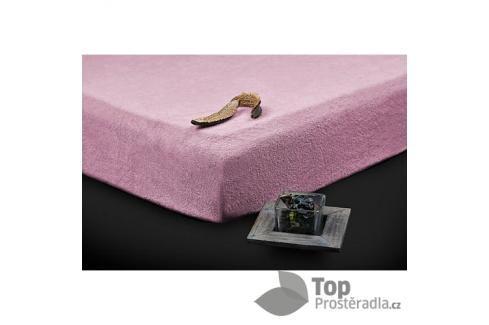 TP Froté prostěradlo Premium 190g/m2 140x200 Lila Prostěradla
