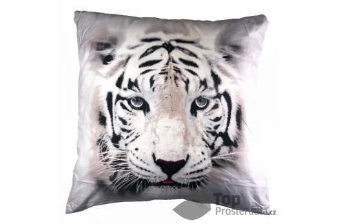 Apex 3D povlak 45x45 White tiger II Ložní povlečení