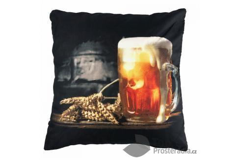 Apex 3D povlak 45x45 Pivo Ložní povlečení