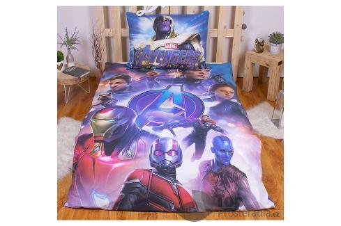 TOP Bavlněné povlečení 140x200+70x90 Avengers Endgame Ložní povlečení