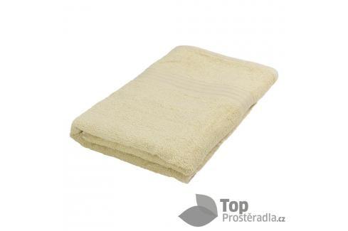 Bambusová osuška EASY - Krémová Ručníky