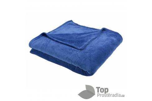 TP Jemná deka 220x200 Královská modrá Deky