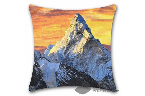 TOP Apex 3D povlak 45x45 Himaláj Ložní povlečení
