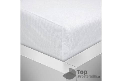 TOP Nepropustný napínací chránič matrace PVC s froté úpravou 90x200 Chrániče na matrace