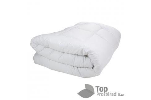 TOP Zimní prošívaná přikrývka WINTER 220x200 - Bílá Polštáře