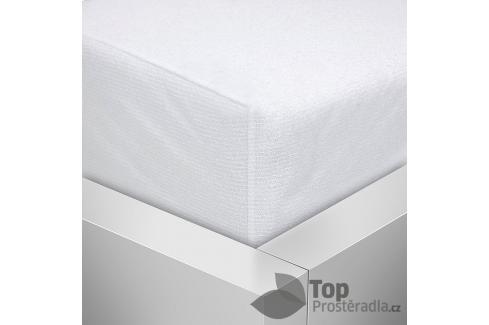 TOP Nepropustný napínací chránič matrace PVC s froté úpravou 90x220 Chrániče na matrace