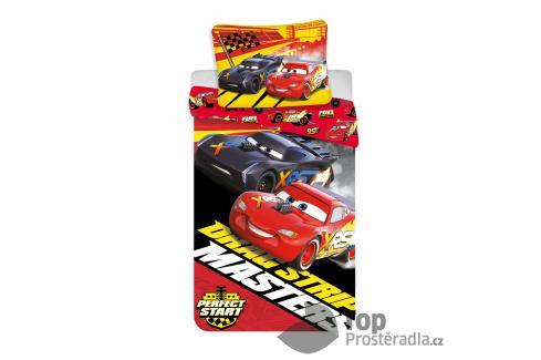 TOP Bavlněné povlečení 140x200+70x90 Cars Masters Dětské povlečení