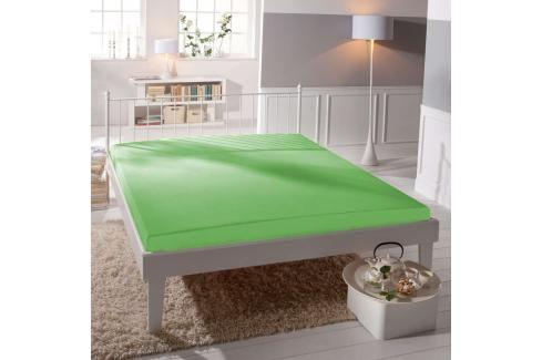TP Jersey prostěradlo Premium 190g/m2 180x200 Zelená Prostěradla
