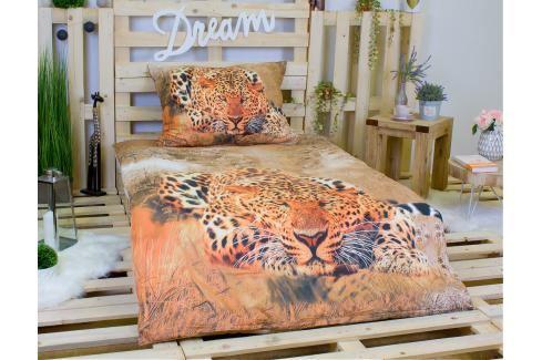 3D povlečení 140x200 + 70x90 - Gepard Wild Ložní povlečení