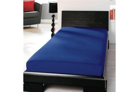 TP Jersey prostěradlo Premium 190g/m2 90x200 Modrá Prostěradla
