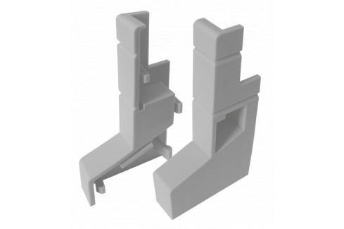 Balkonová PVC koncovka L+R (set 2ks) LBKK Ukončovací a přechodové lišty