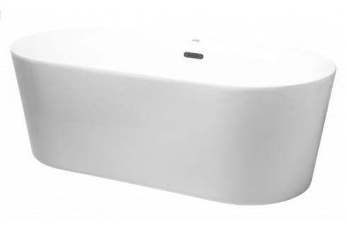 Volně stojící vana Siko Zara 169x80 cm akrylát ZA1700 Vany