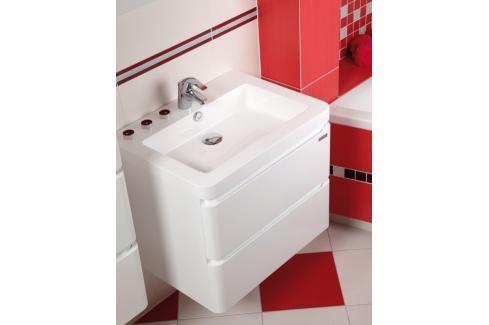 Koupelnová skříňka s umyvadlem Naturel Pavia Way 64x48,5 cm bílá PAVIA265Z Koupelnový nábytek