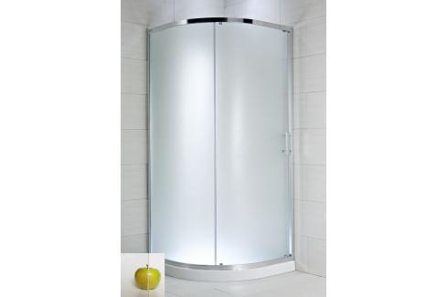 Sprchový kout čtvrtkruh 90x90x195 cm Jika Cubito Pure chrom lesklý H2502420026681 Sprchové kouty