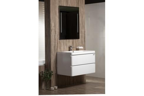 Koupelnová skříňka s umyvadlem Naturel Pavia Way 85x48,5 cm bílá PAVIA285Z Koupelnový nábytek