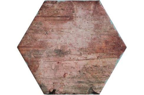 Dlažba Fineza Brick America old 24x27,7 cm mat BRICKAMHEXOL Obklady a dlažby