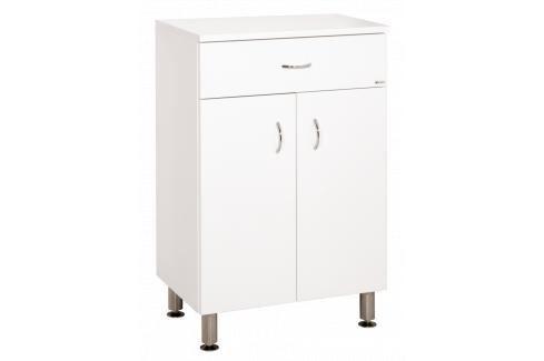 Koupelnová skříňka nízká Keramia Pro 50x33,3 cm bílá PRON50DV Koupelnový nábytek