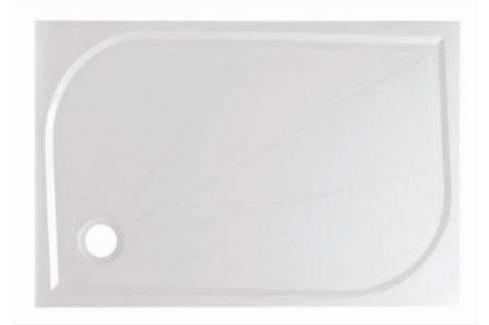 Sprchová vanička obdélníková Siko Limnew 120x80 cm litý mramor LIMNEW12080 Sprchové vaničky