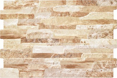 Obklad Geotiles Brick terra 34x50 cm reliéfní BRICKTE Obklady a dlažby