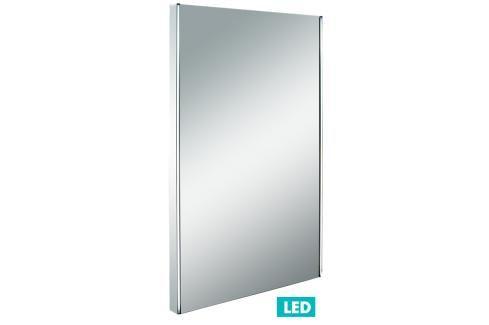 Zrcadlo s LED osvětlením Naturel Iluxit 50x80 cm chrom ZIL5080LED Zrcadla