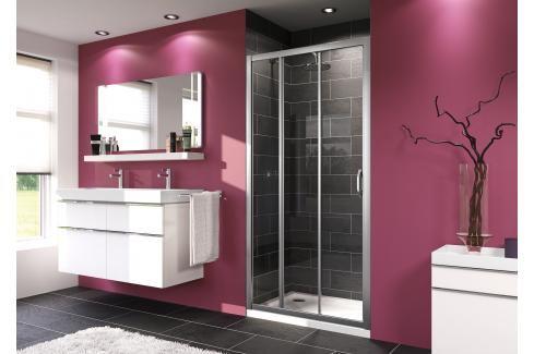 Sprchové dveře 100x190 cm Huppe Next chrom matný 140305.069.322 Sprchové zástěny