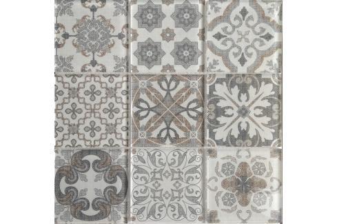 Dekor Premium Mosaic Skleněné obklady mix barev 30x30 cm, lesk PATCHWORK200 Obklady a dlažby