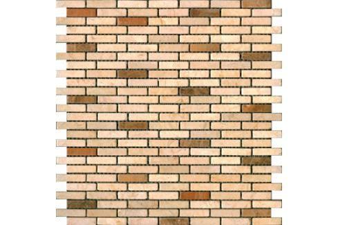 Kamenná mozaika Premium Mosaic Stone béžová 29x30 cm mat STMOS1040CRW Mozaiky