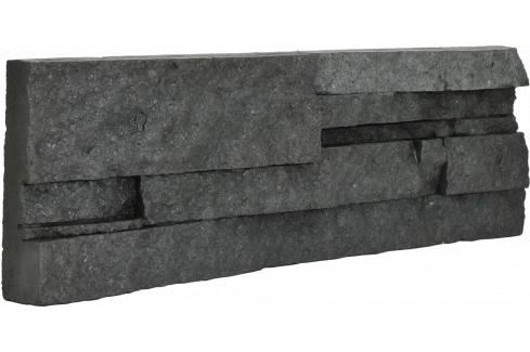 Obklad Vaspo Kámen lámaný tmavě šedá 10,7x36 cm V53006 Výhodná nabídka