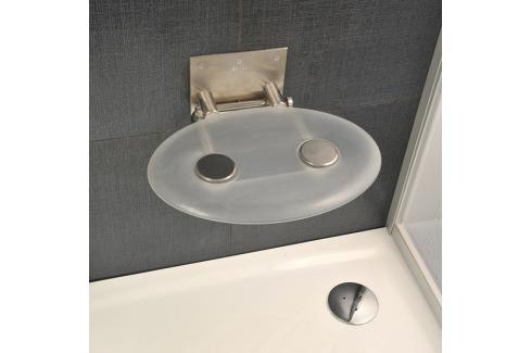 Sprchové sedátko Ravak Ovo P čirá B8F0000000 Madla k vaně