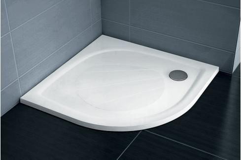 Sprchová vanička čtvrtkruhová Ravak Elipso 90x90 cm litý mramor XA237701010 Sprchové vaničky