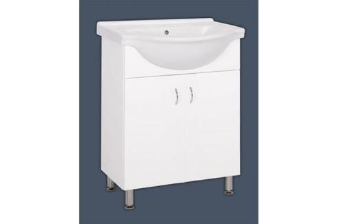 Koupelnová skříňka s umyvadlem Multi Pro 66x51,4 cm bílá PRO65NOVA Koupelnový nábytek