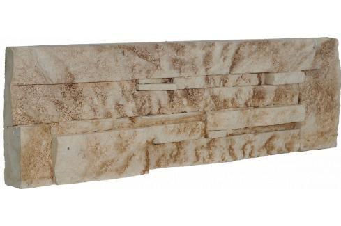 Obklad Vaspo Kámen lámaný béžovohnědá 10,7x36 cm V53004 Výhodná nabídka