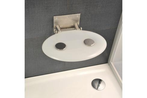Sprchové sedátko Ravak Ovo P bílá B8F0000001 Madla k vaně