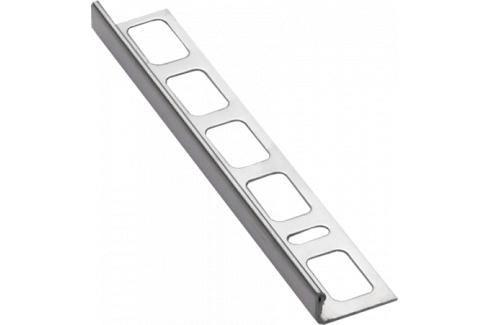Lišta ukončovací L nerez kartáčovaná, délka 250 cm, výška 10 mm, NRZK10250 Ukončovací a přechodové lišty