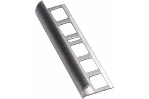 Lišta ukončovací oblá hliník přírodní, délka 250 cm, výška 10 mm, ALO10250 Ukončovací a přechodové lišty