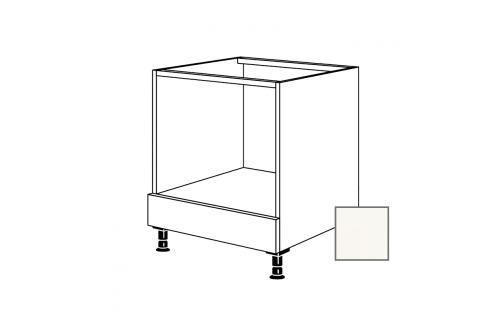 Kuchyňská skříňka pro troubu spodní Naturel Erika24 60x72x56 cm bílá lesk 450.HUB Kuchyňské skříňky dle typu