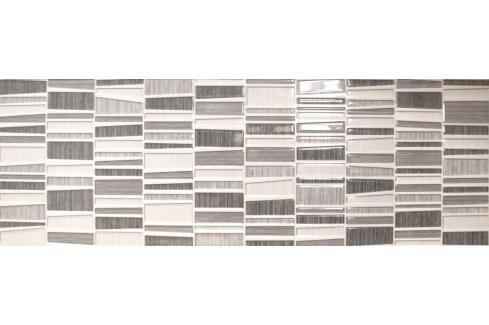 Dekor Fineza Cube Way grey 25x75 cm lesk DCUBEWAY Obklady a dlažby