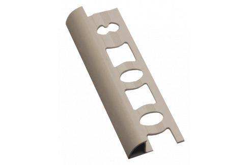 Lišta ukončovací oblá PVC bahama, délka 250 cm, výška 6 mm, L62501 Ukončovací a přechodové lišty