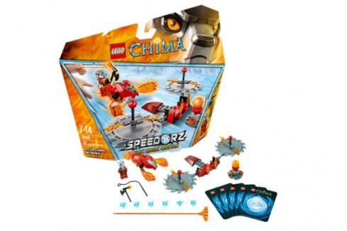 LEGO - Chime 70150 Ohnivé drápy Chima