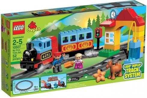 LEGO - DUPLO 10507 Můj první vláček Duplo